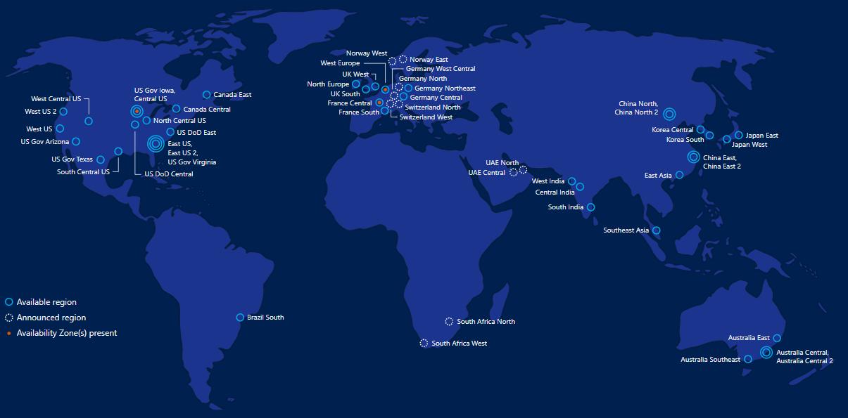 Microsoft Azure Global Infra